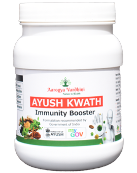 Ayush Kwath With Giloy Ready To Use Kadha (herbal tea/decoction)