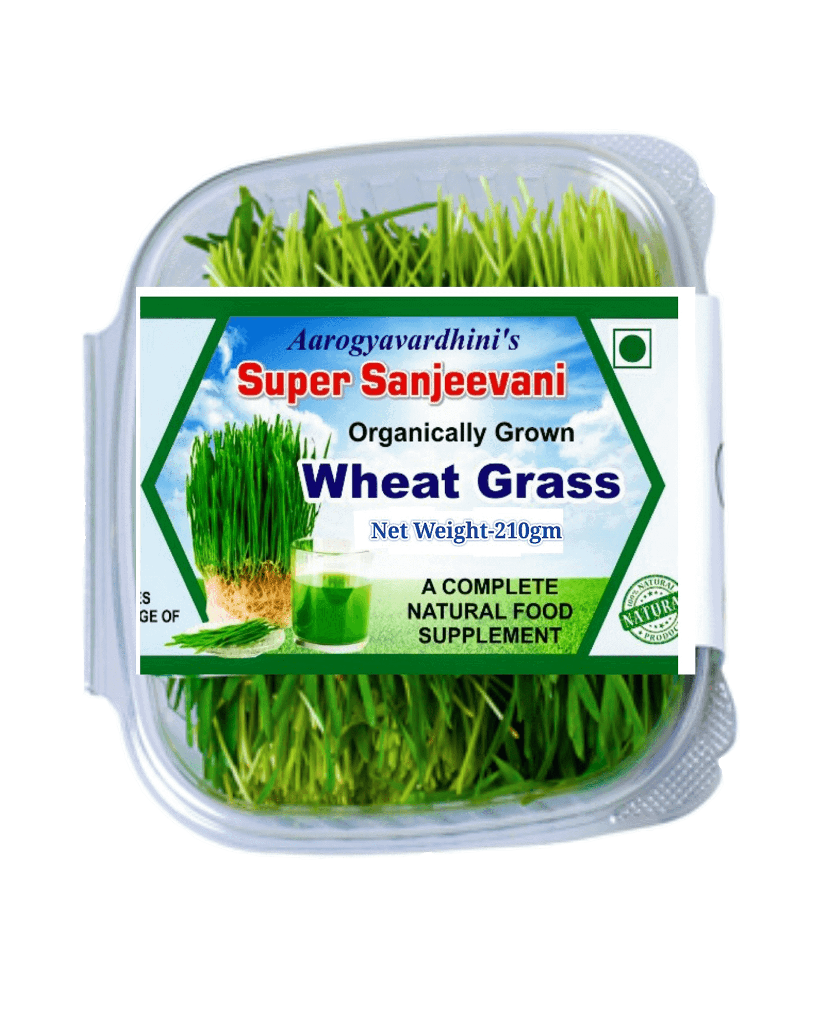 Organically Grown Wheatgrass ArogyaVardhini Organically Grown Wheatgrass